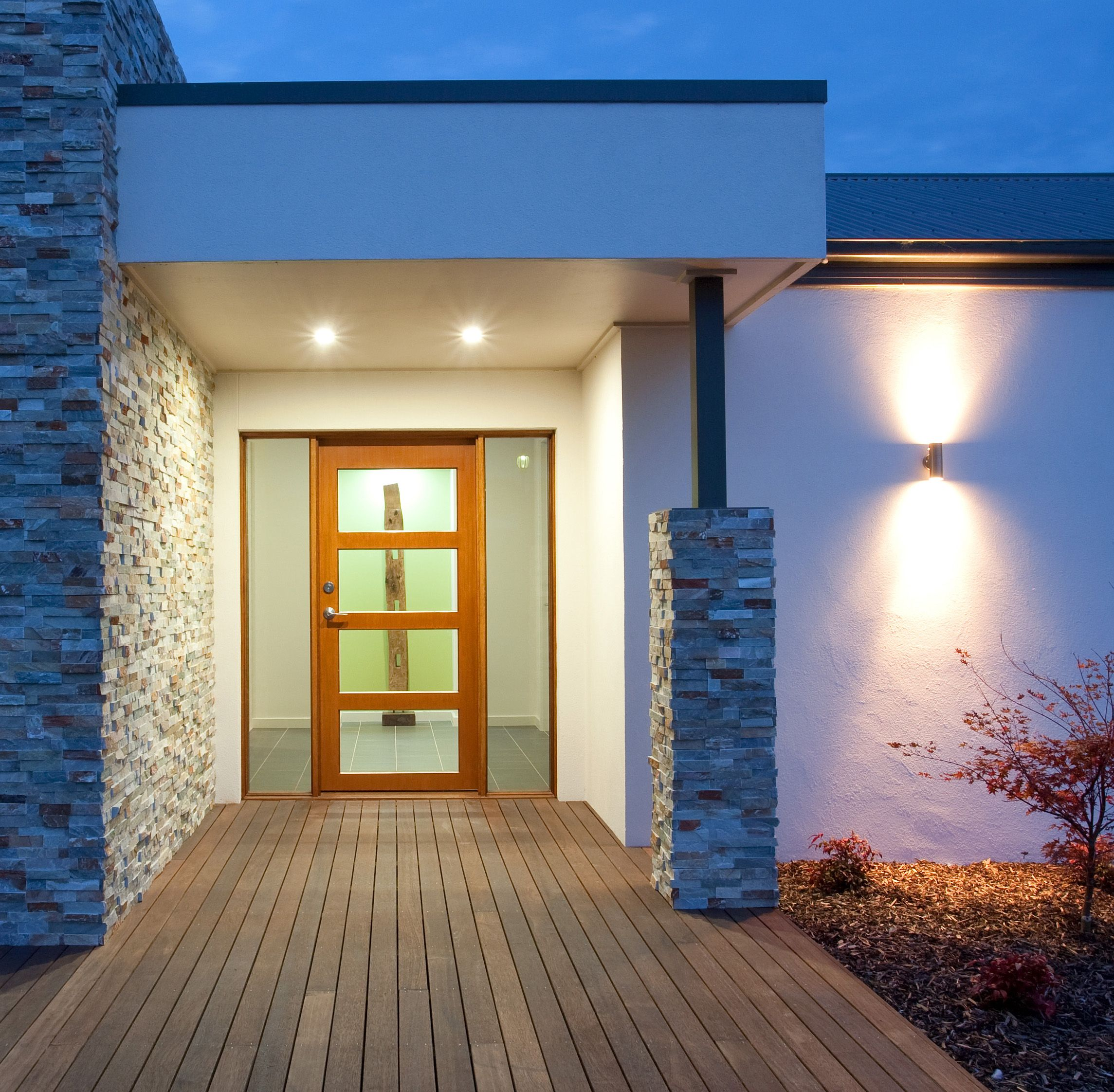 Outdoor Lighting Ideas And Options: External Lighting Options For The Entry Of Your Home