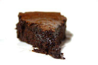 A Tentacao Em Forma De Bolo De Chocolate Bolo De Chocolate