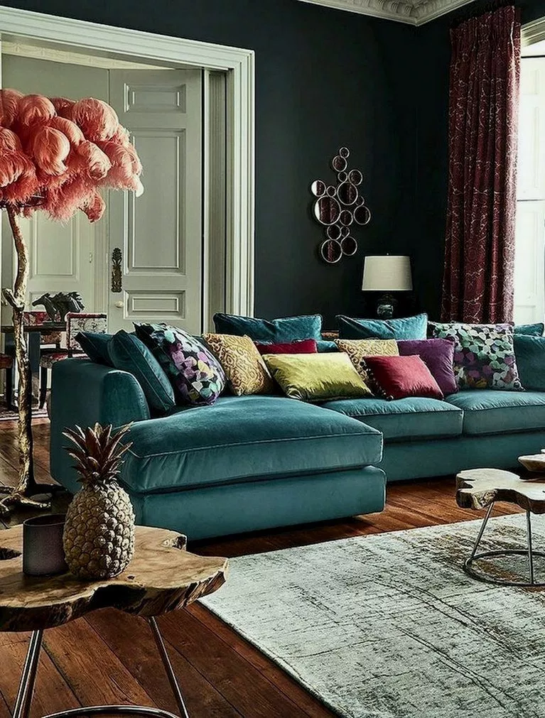 34 Great Decorating Ideas For Living Room Greatlivingroom Livingroomdecor Livingroomi Teal Living Room Decor Corner Sofa Living Room Blue Living Room Decor #teal #living #room #decor #ideas