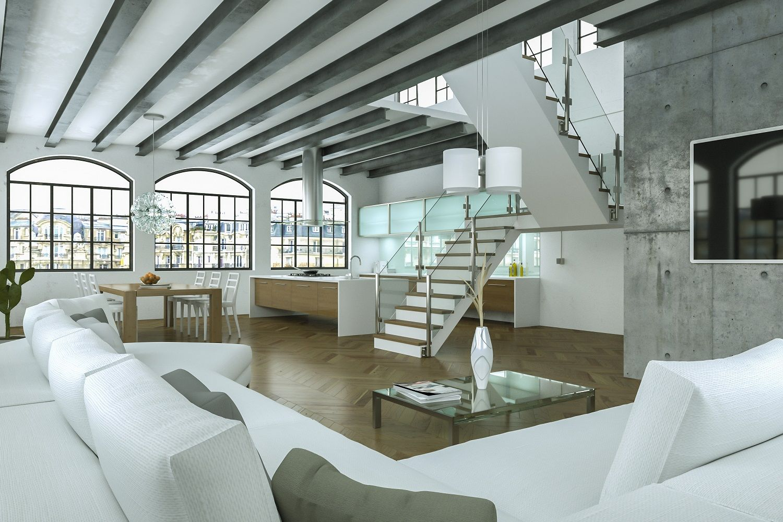 Offenes Treppenhaus 2 Etagen Glas   Google Suche