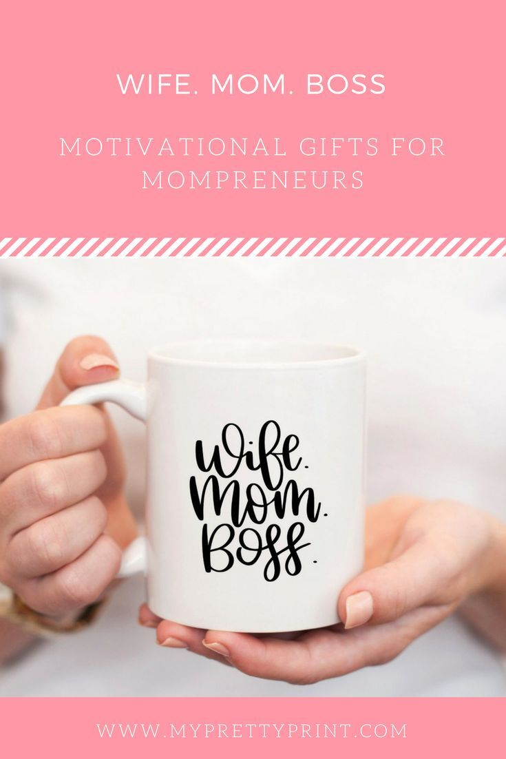 Wife Mom Boss Coffee Mug #bosscoffee
