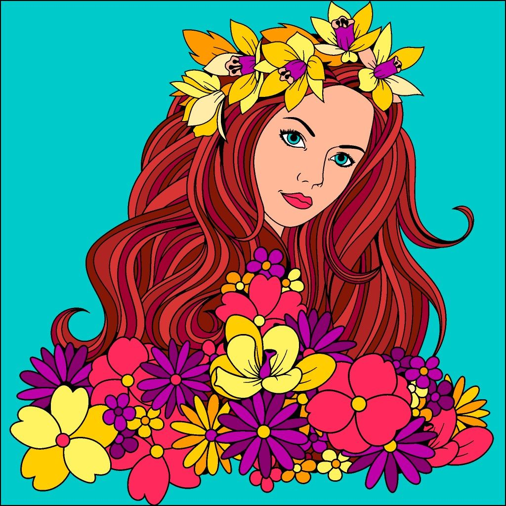 Pin By Mary Williams On Favorites From Color By Number Coloring Book Art Colorful Art Happy Colors