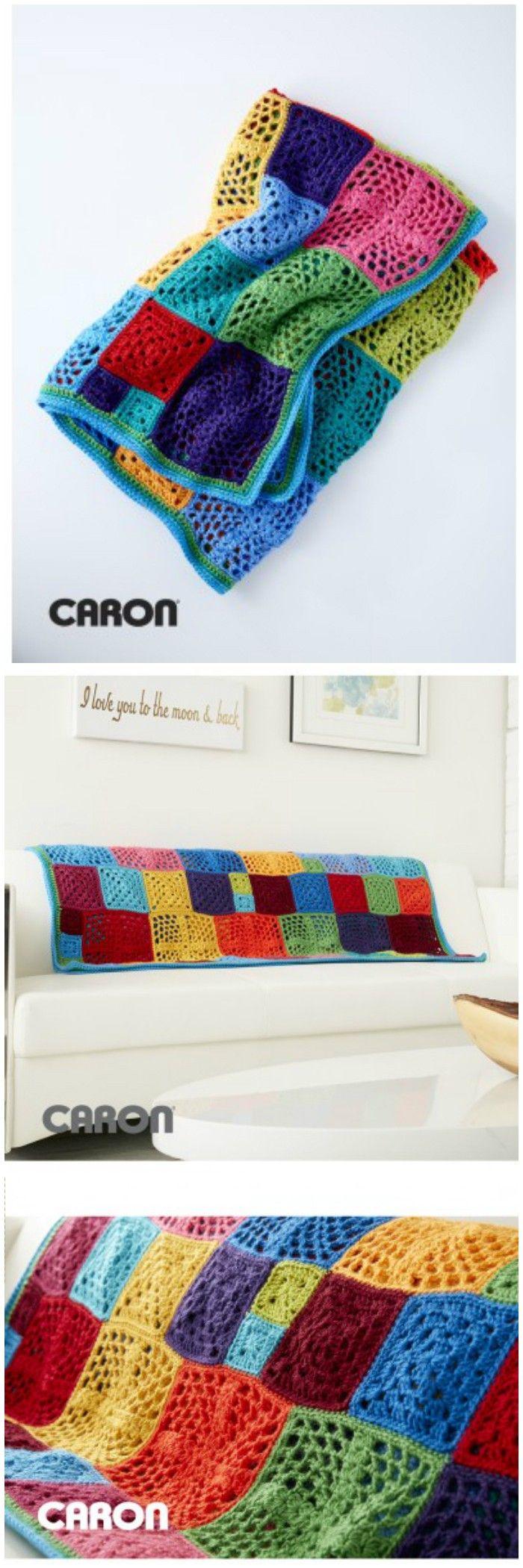 Free Crochet Blanket Patterns – Free Patterns | Pinterest | Manta