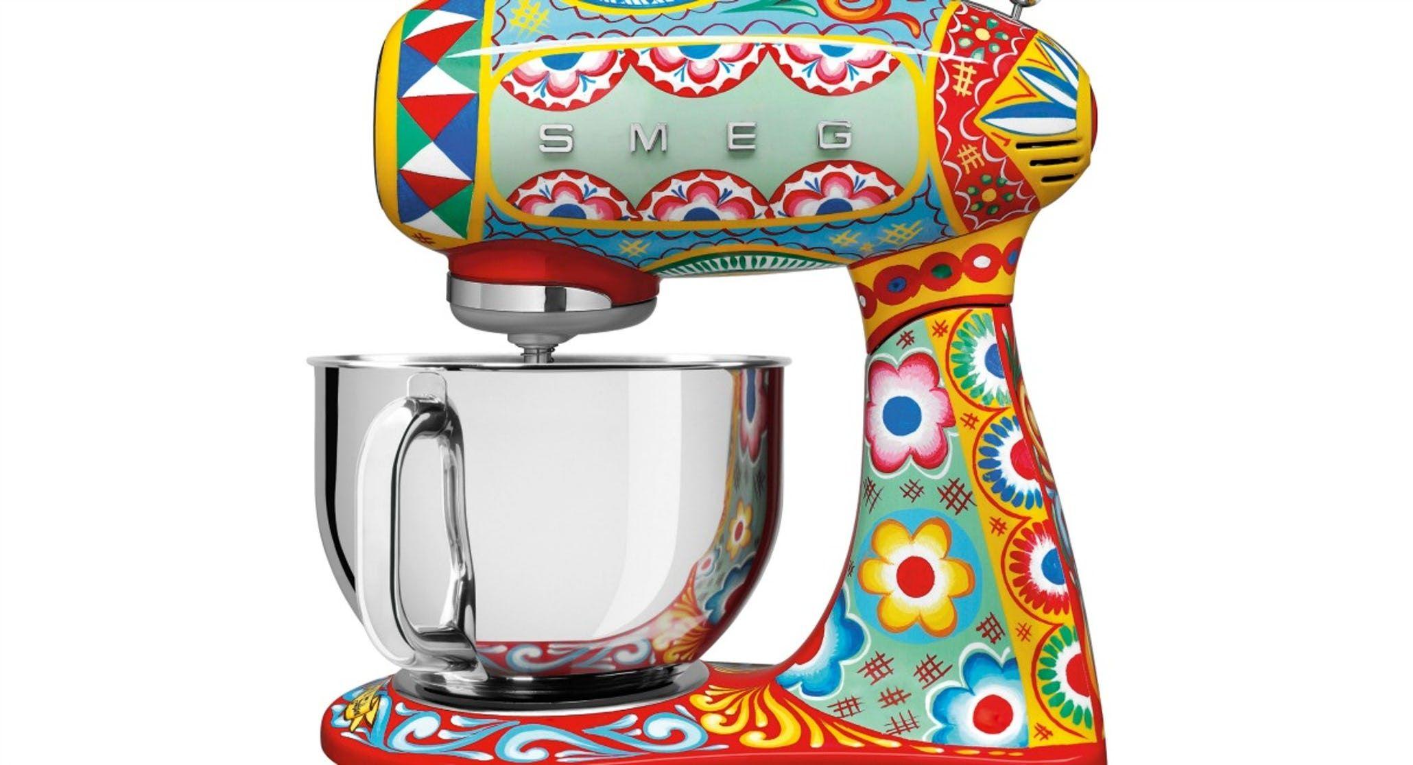 We Re Giving Away Dolce Gabbana S New Kitchen Appliances Smeg