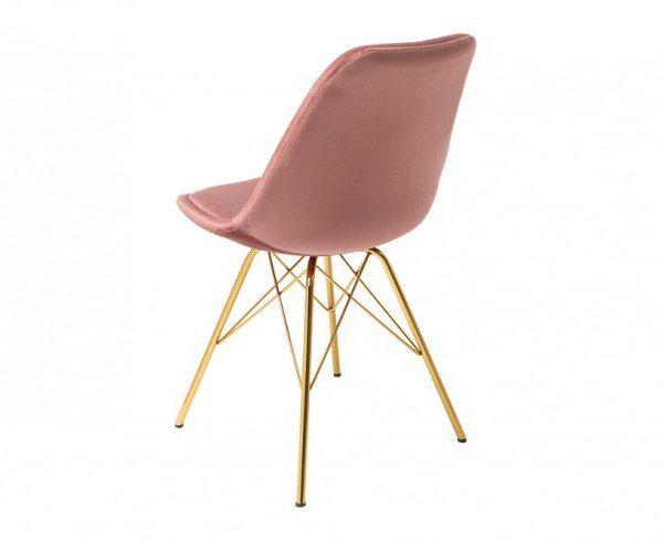 Metalowe Krzeslo Zlote Szukaj W Google Eames Chair Chair Decor