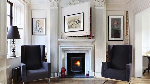 Historic home transformation with eclectic interior in London