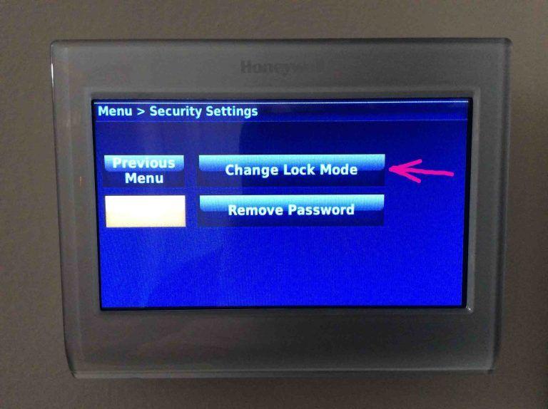 How To Lock Unlock Honeywell Thermostat Rth9580wf Tom S Tek Stop Honeywell Thermostats Thermostat Honeywell