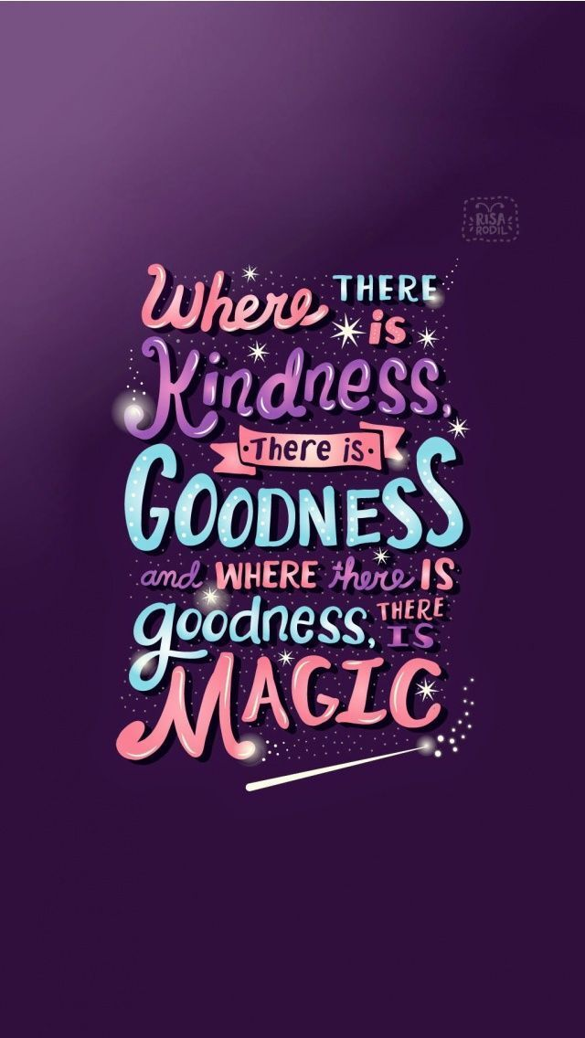 """It's a good reminder that """"goodness"""" and """"magic"""" are one"""