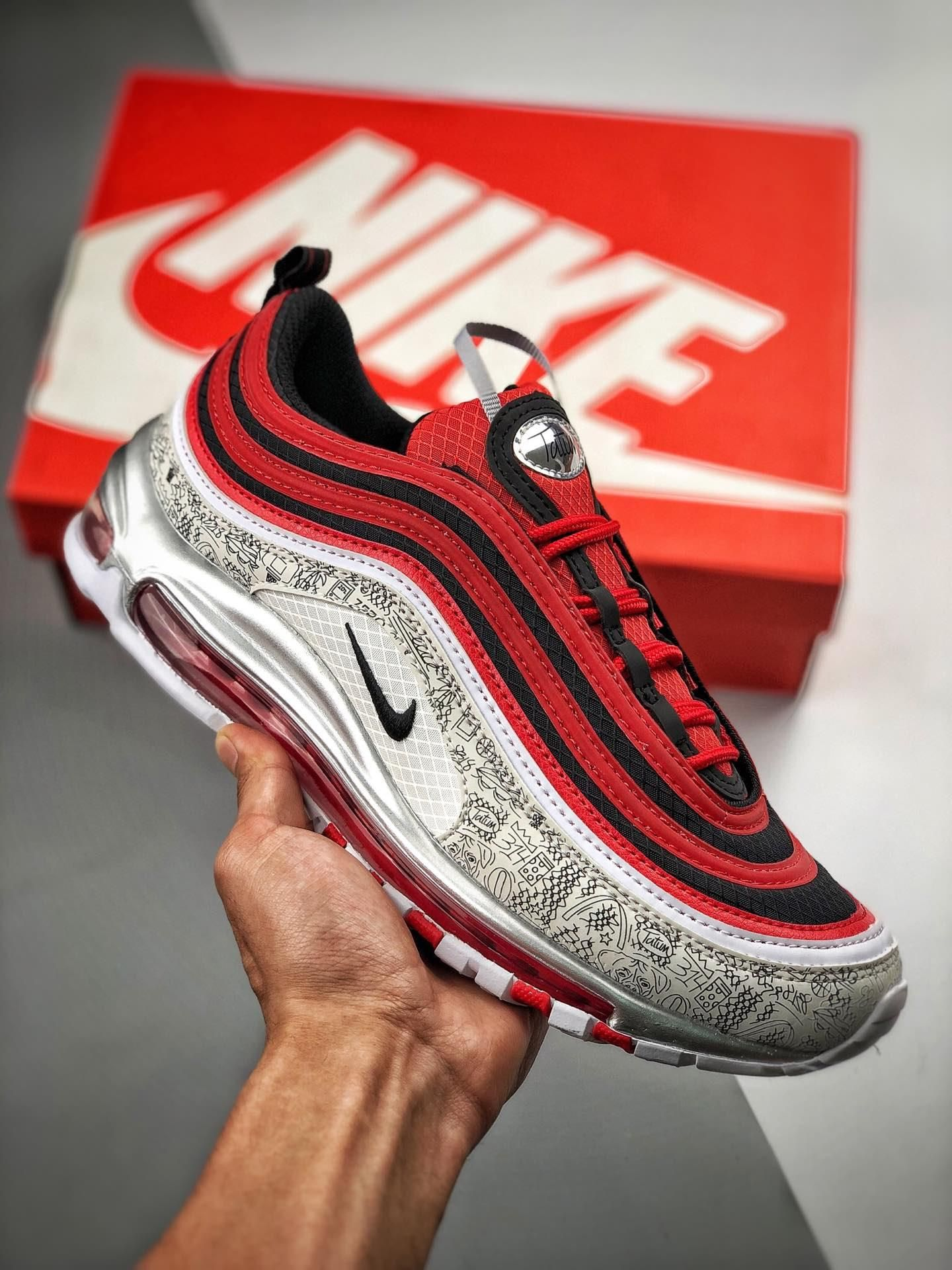 Nike Air Max 97 x Jayson Tatum CJ9780 600 in 2020 | Nike air