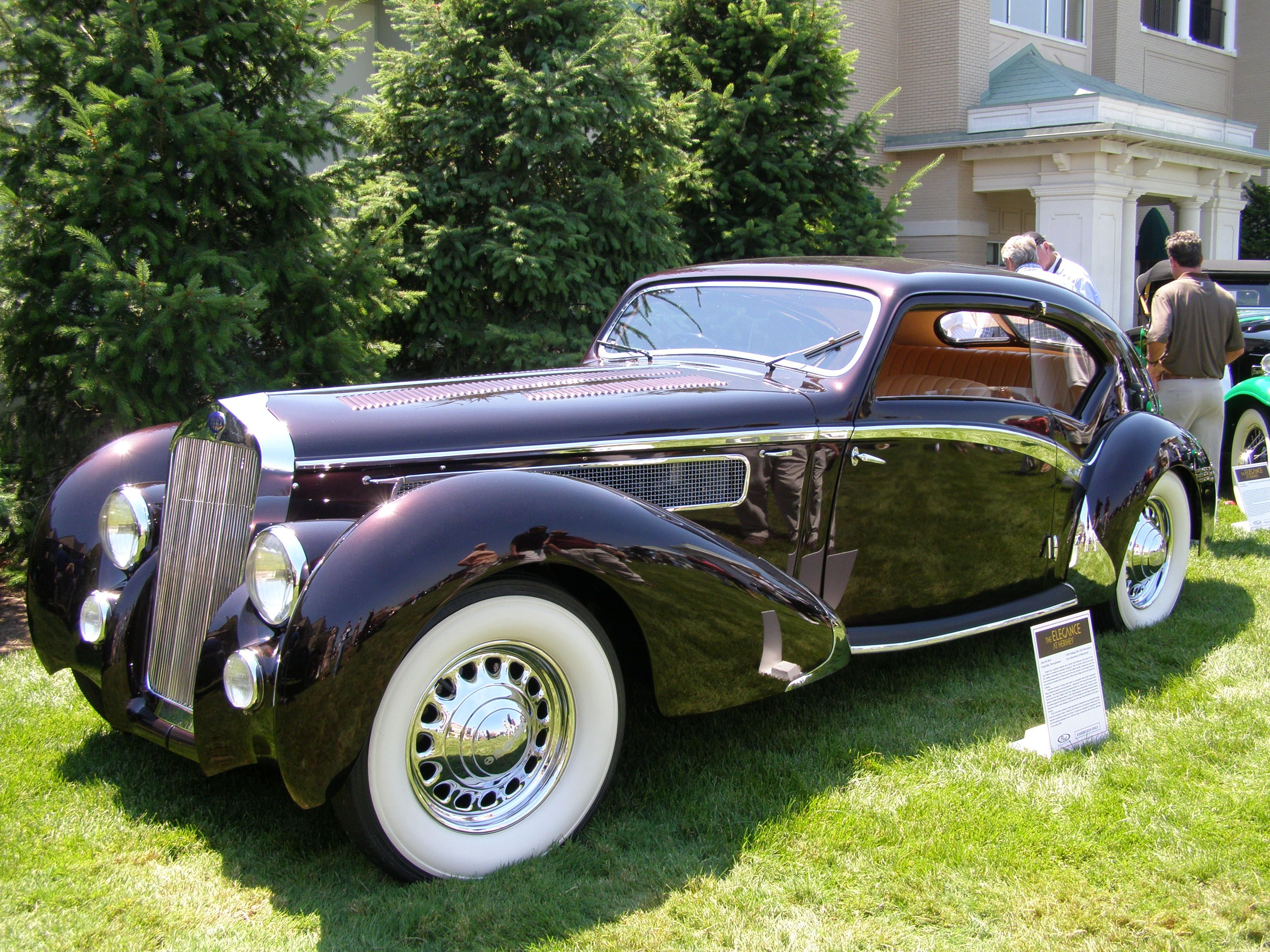 Delage Aerosport Coup Picture Take At The Elegance At Hershey - Hershey antique car show