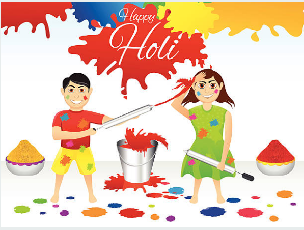 Picture Of Holi Festival Pictures Of Holi Festival For Colouring