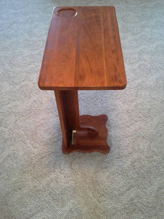 Groovy Solid Cherry Wood Folding Tv Tray Laptop Table Rv Tray Snack Bralicious Painted Fabric Chair Ideas Braliciousco