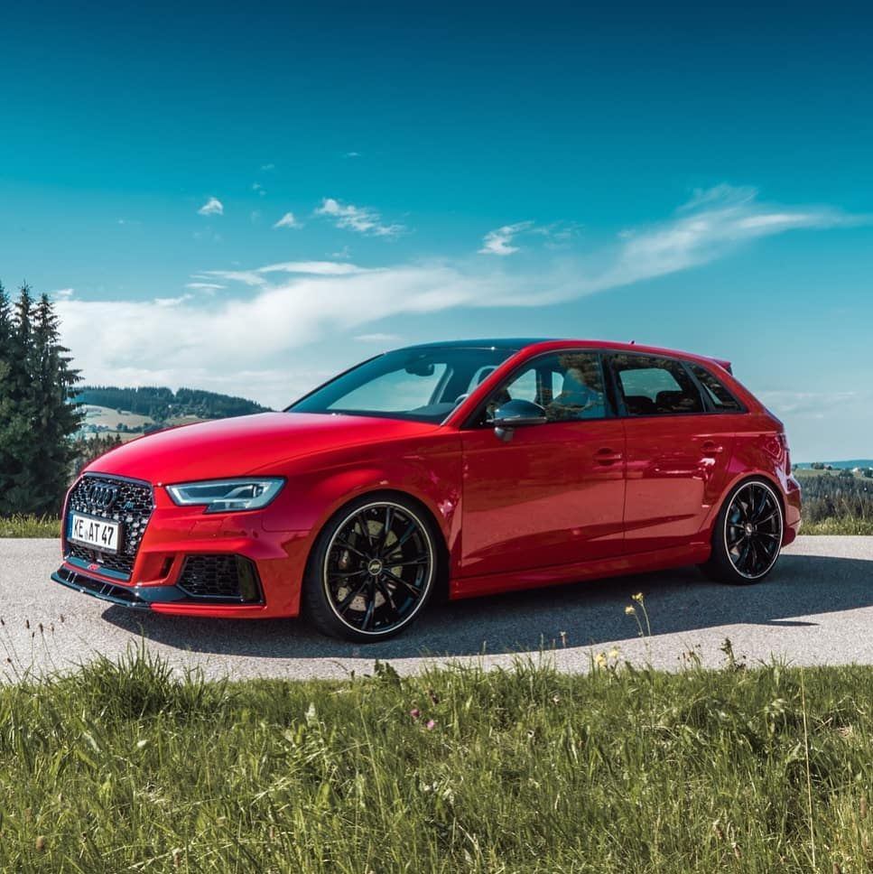 Audi Rs3 Abt In Red Is This The Perfect Toy To Drive Every