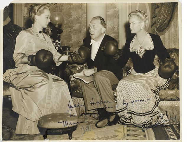 Image result for miriam hopkins and bette davis in boxing gloves 1939