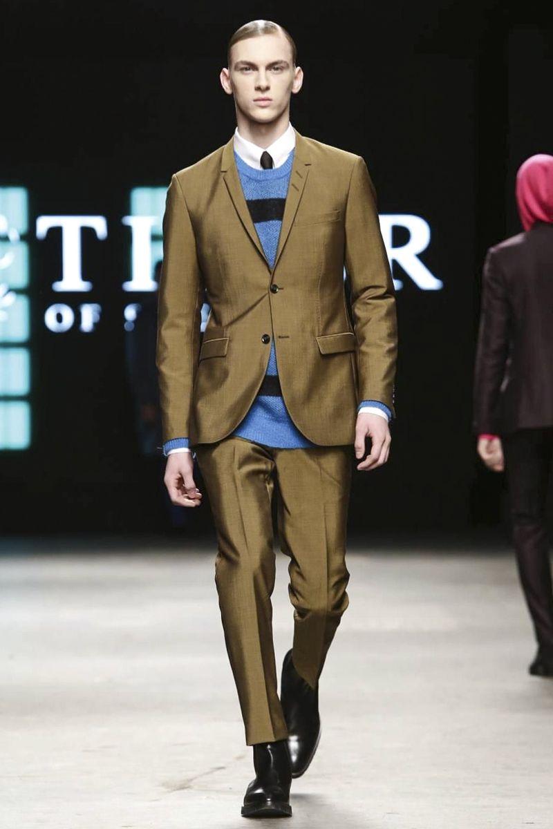 Tiger of Sweden Menwear Fall Winter 2015 London ❤️