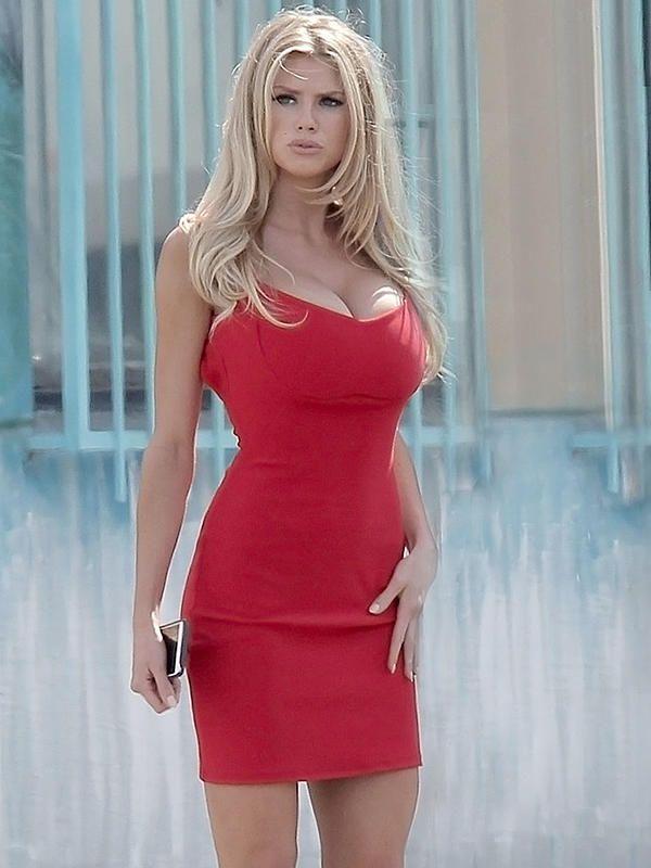 Curves Charlotte Hot Mckinney Charlotte Mckinney Red XPwq0XB1