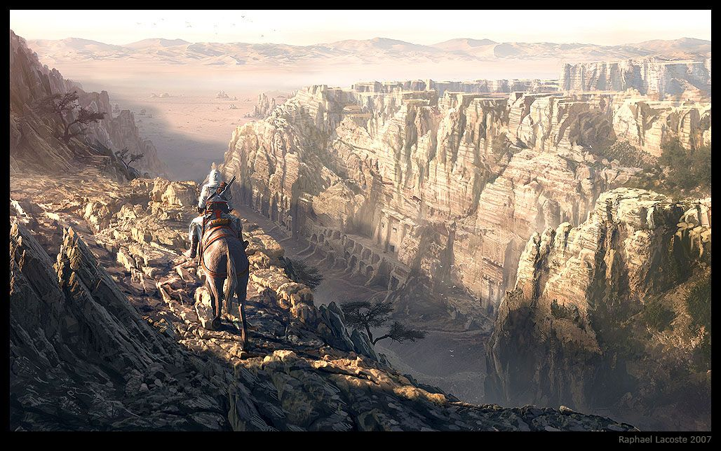 """""""Assassin's Creed"""" production art by Raphaël Lacoste"""