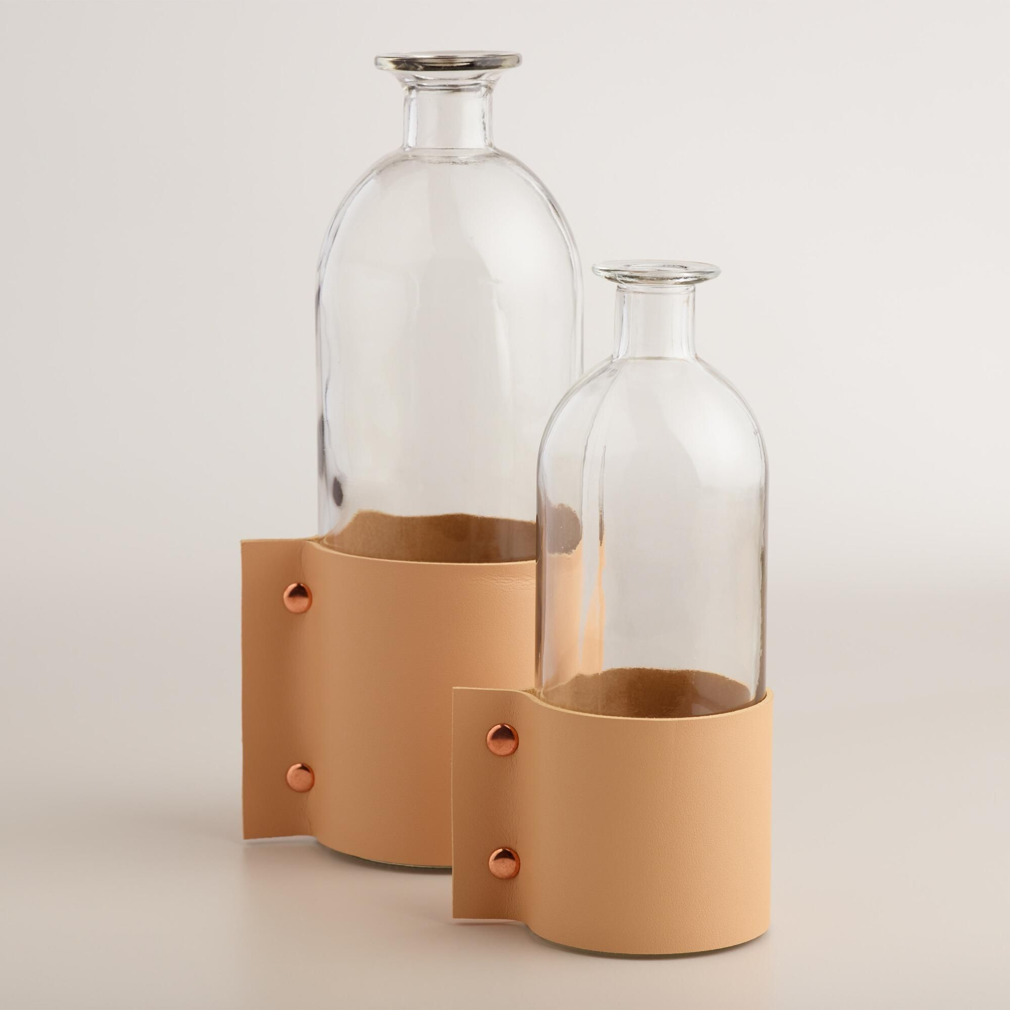 With A Unique Milk Bottle Inspired Shape, Our Vase Features A Barely Tanned  Faux