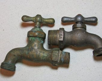 outdoor faucet on Etsy, a global handmade and vintage marketplace
