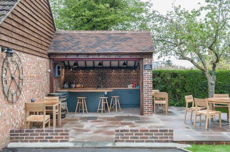 Aménager un bar de jardin : conseils utiles   Bar de jardin ...