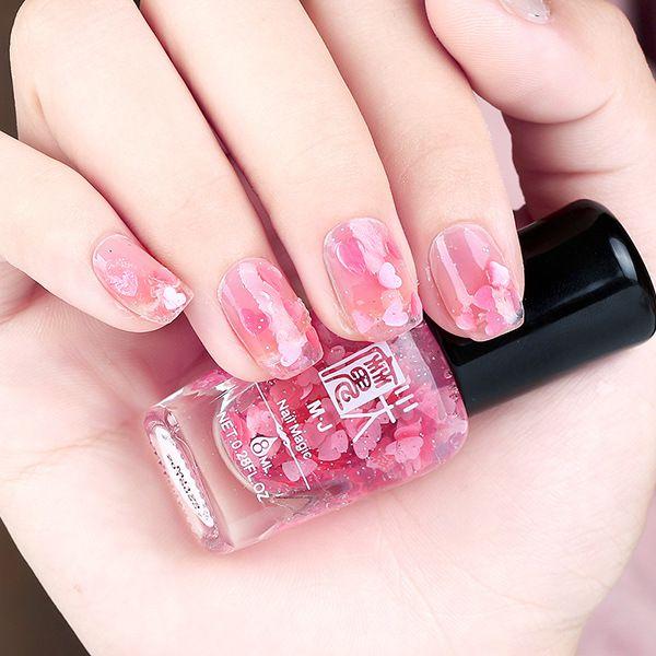 1PC Professional Women Nail Polish Quick Dry 8ml Nail Art Cute ...