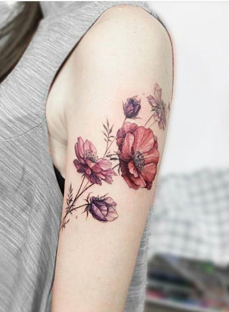 image result for vintage flowers tattoos ink pinterest vintage flower tattoo flower. Black Bedroom Furniture Sets. Home Design Ideas