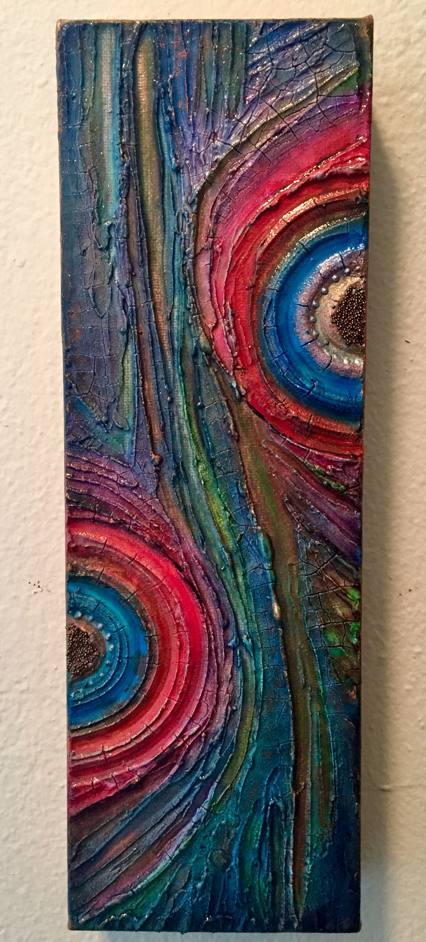 Modeling Paste And Crackle Paste On Canvas With Acrylic Inks Acrylics And Micro Beads With Images Texture Painting On Canvas Abstract Painting Acrylic Canvas Painting