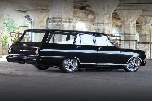 1963 Chevy Ii Nova Wagon The Black Box Chevy Nova Wagon