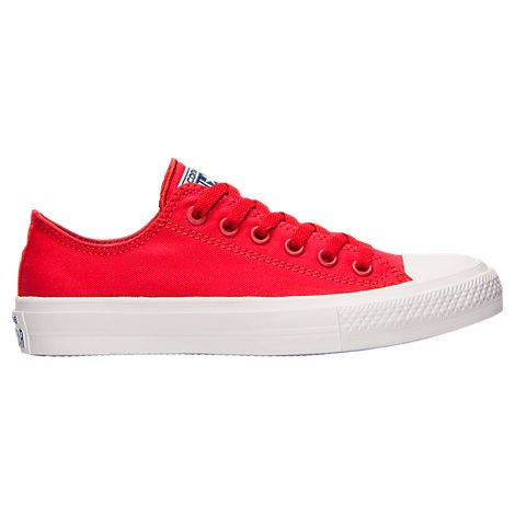 Women's Converse Chuck Taylor II Ox Casual Shoes - 550151C RED | Finish Line