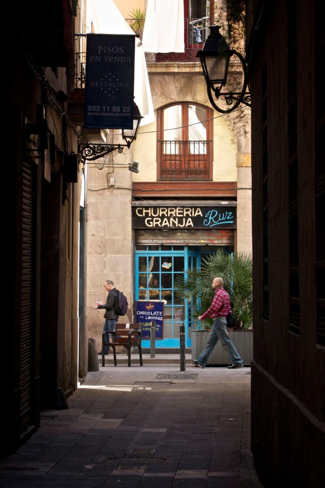 Barri Ribera Barcelona Bar In Carrer Princesa Catalonia Travel