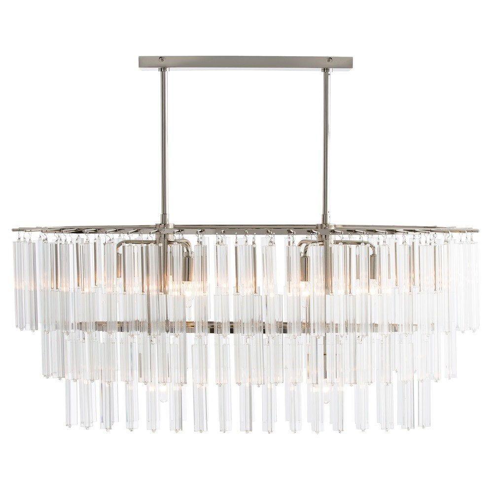 Arteriors 89009 nessa 8 light chandelier in clearpolished nickel arteriors 89009 nessa 8 light chandelier in clearpolished nickel arubaitofo Choice Image