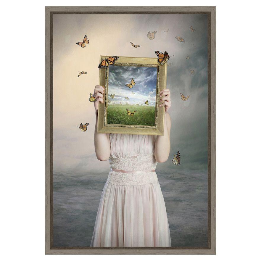 Amanti Art Set Them Free Framed Canvas Print In 2020 Framed Canvas Wall Art Global Gallery Online Wall Art