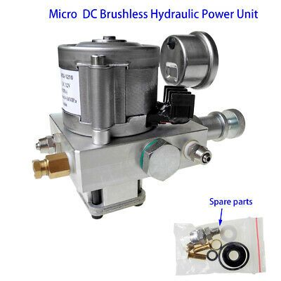 Ad Ebay Url Electric Hydraulic Pump Power Pack Unit 12v Dc 10mpa Oil Pump Kit Single Acting Power Unit Hydraulic Pump Hydraulic