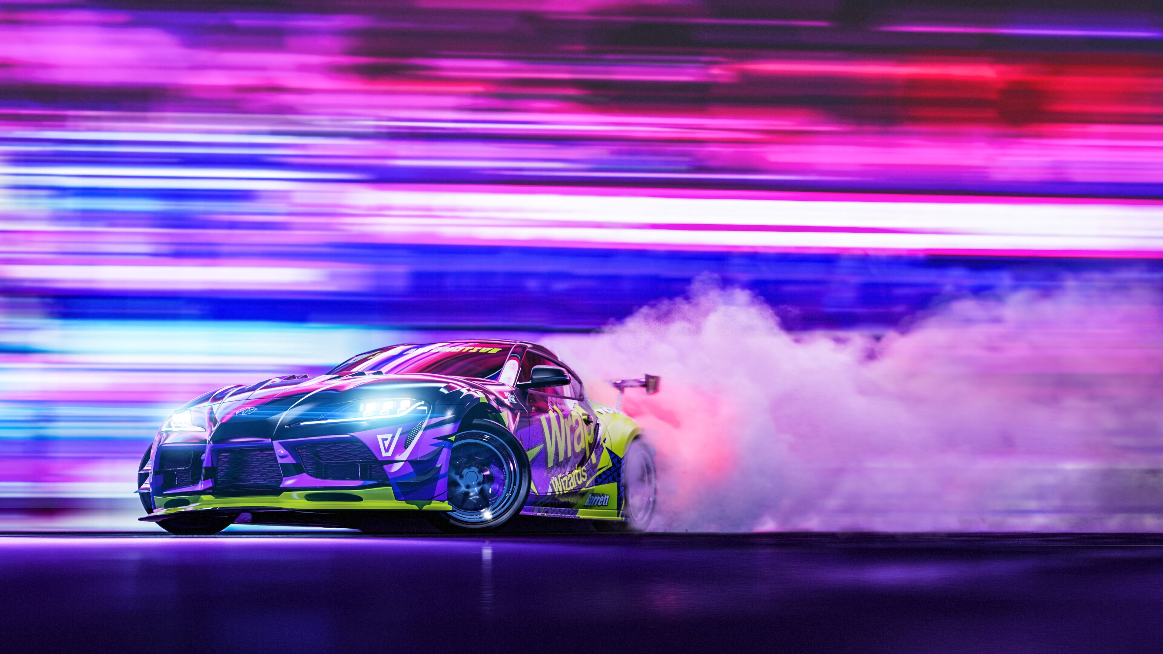 Sportscar Drift By Javier Oquendo 3840x2160 In 2021 Toyota Supra Car Wallpapers Toyota Supra Mk4