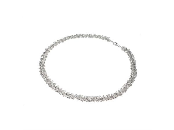 Kelim Sterling Silver Morning Flower Mini Necklace