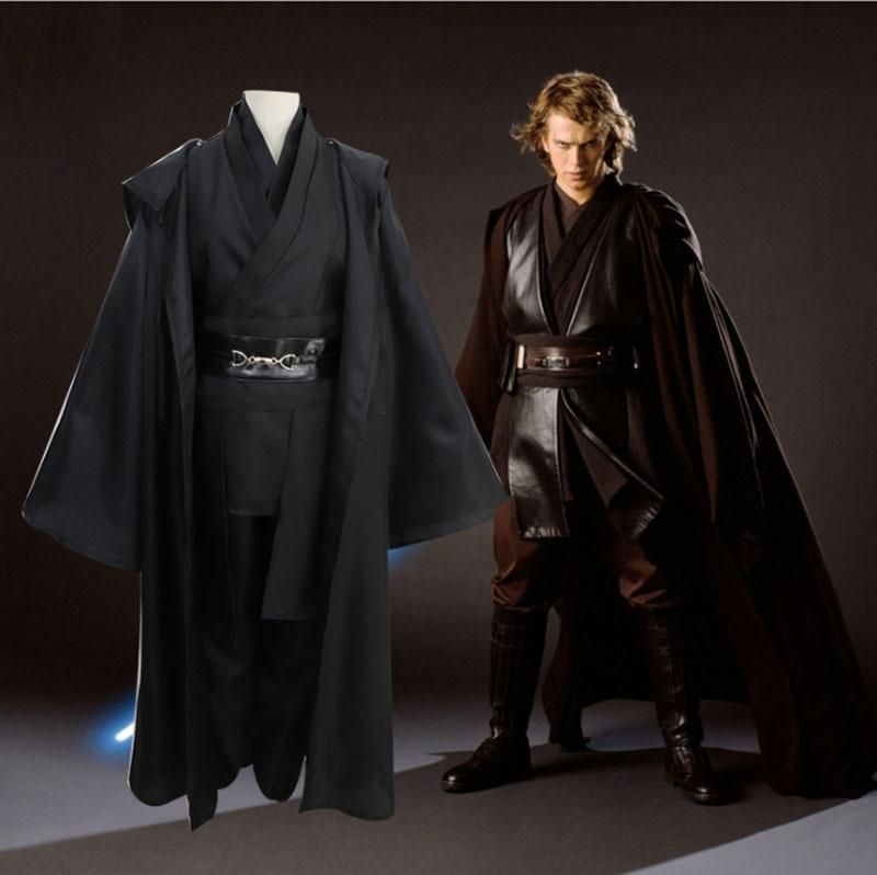 Star Wars Dark Jedi Revenge of the Sith Anakin Skywalker Cosplay Costume