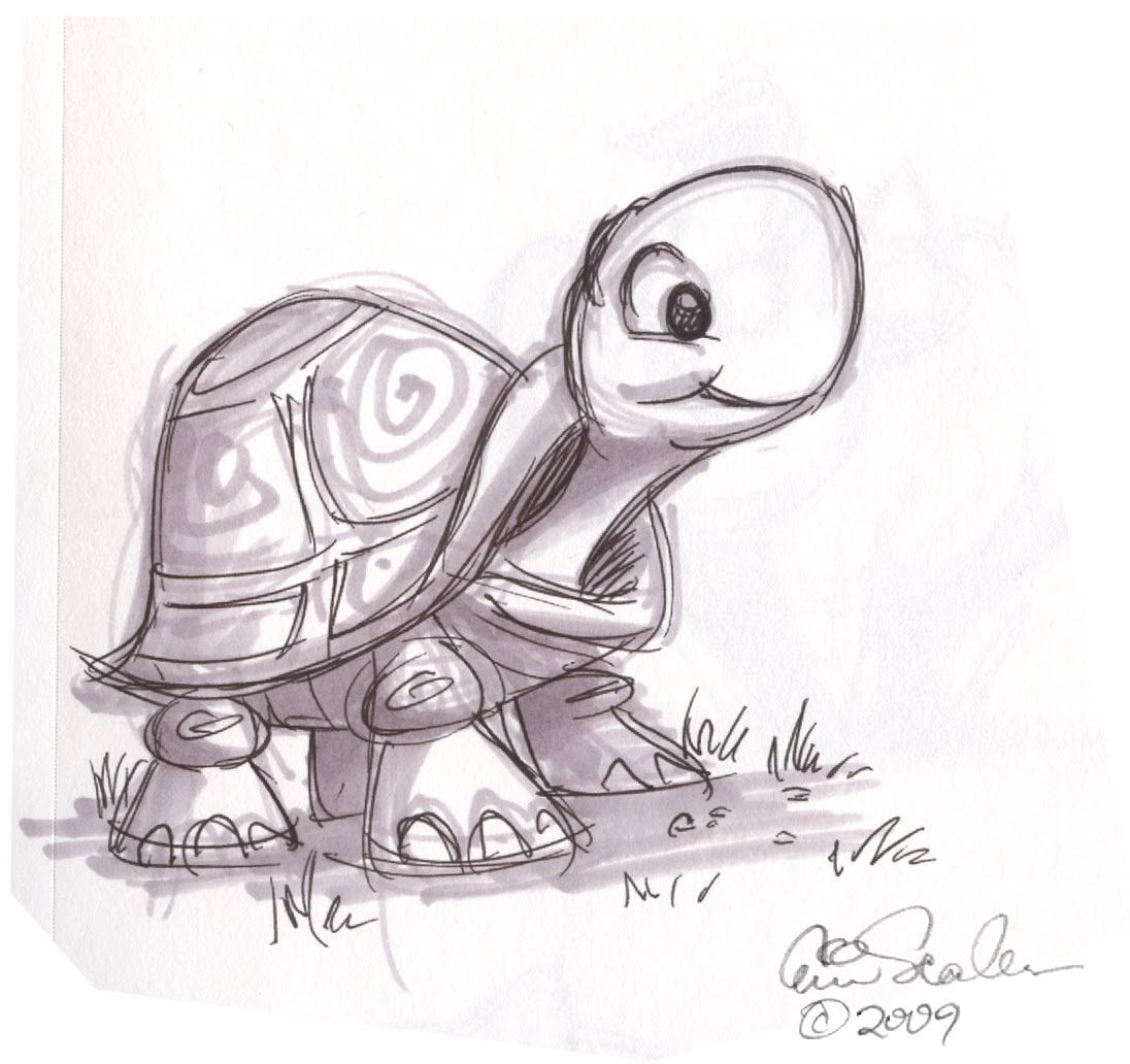 29+ Turtle sketch ideas