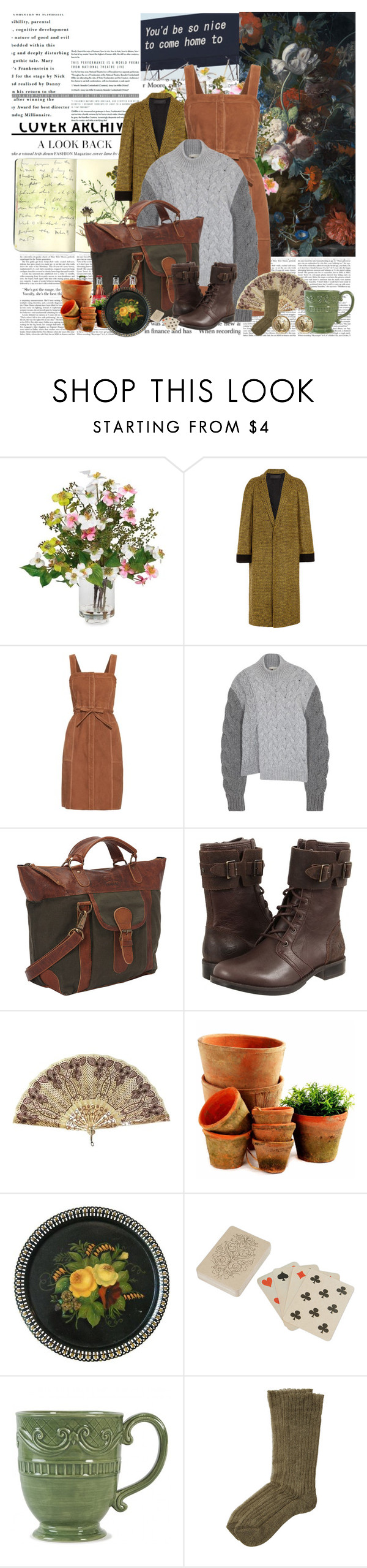 """""""you'd be so nice to come home to"""" by noextrate ❤ liked on Polyvore featuring Moleskine, Nearly Natural, M.i.h Jeans, STELLA McCARTNEY, UGG Australia, Dot & Bo, Fitz & Floyd, Etro and Chanel"""