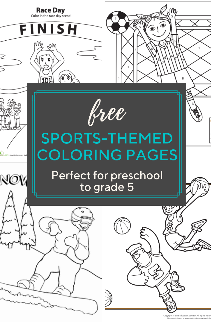 access more than a hundred sports related coloring pages your little sports fan will love free. Black Bedroom Furniture Sets. Home Design Ideas