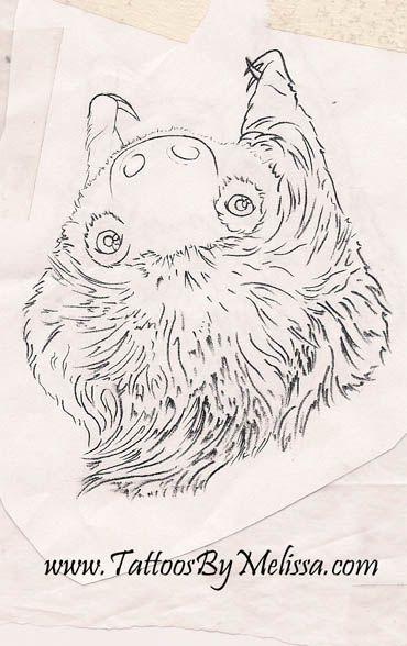 upside down sloth sketch  Artist: Melissa Capo  www.TattoosByMelissa.com