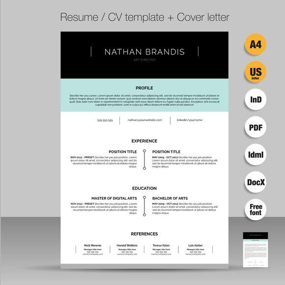 Resume / CV / Cover letter pack Cv cover letter and Resume cv
