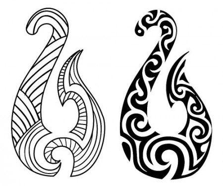 Maori Tattoos Significado Pesquisa Google Wolves Pinterest - Simbolos-maories