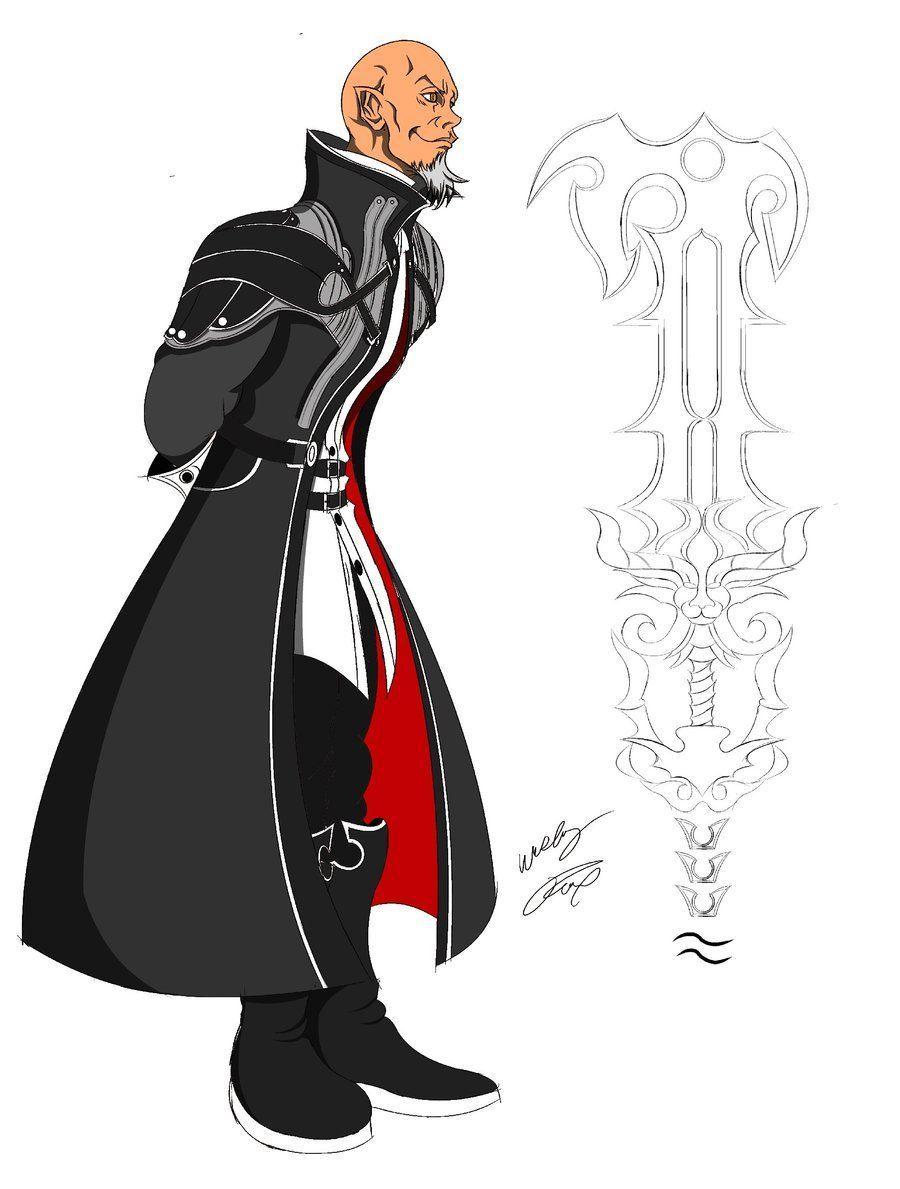 Sephiroth - Kingdom Hearts Concept Art   Character Viz   Pinterest ...