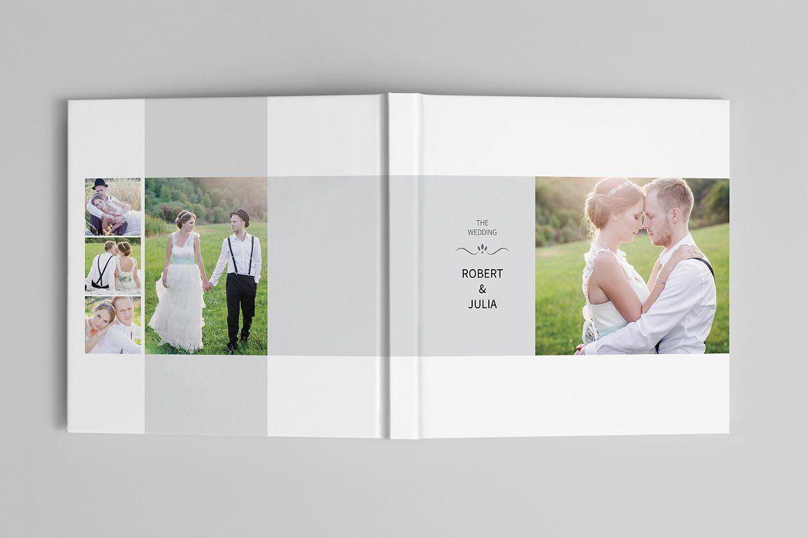 Wedding Album Template By Tujuhbenua On Creativemarket Photo