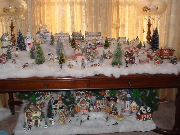 Information About Rate My Space Christmas Village Display