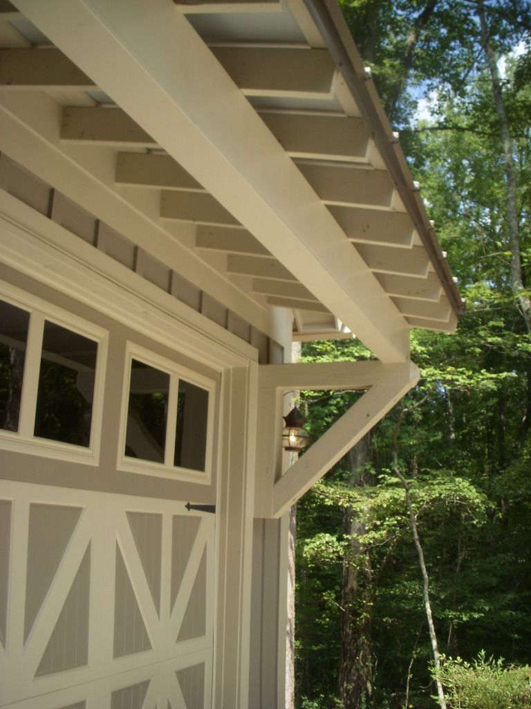 Shed Roof Detail On Five Forks Stock Plan Designed By