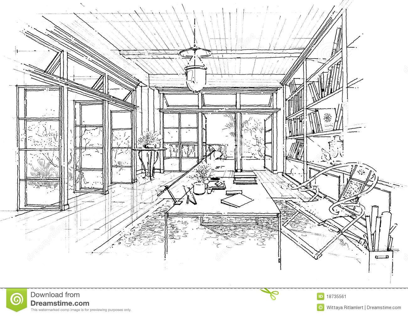 Interior Drawings