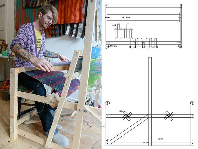 floor loom plans   Tablet weaving, Weaving looms and Weaving techniques
