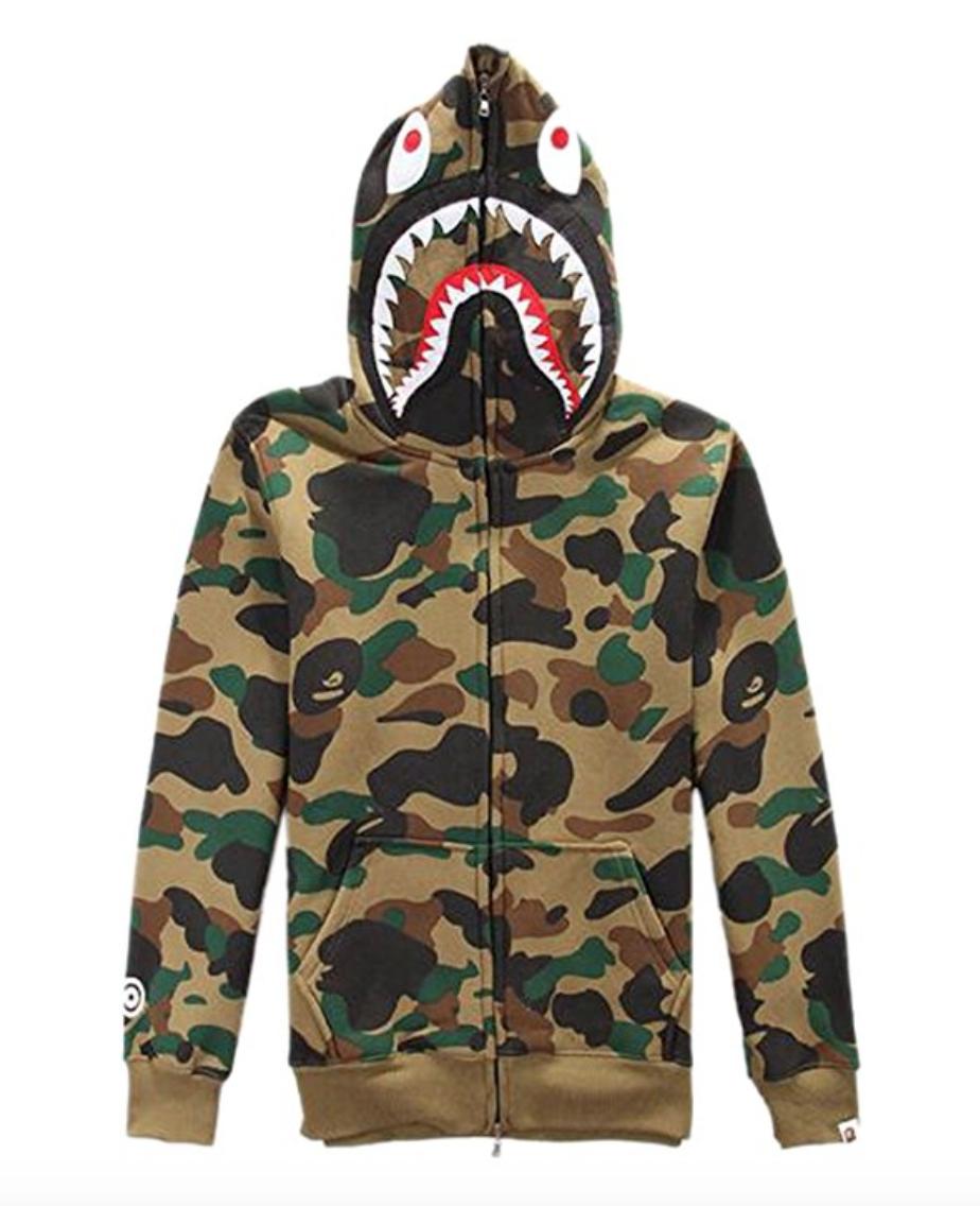 327c95f5 FOR SALE: ETASSO Mens Hooded Full Zip Top UTP Hoodie Military Combat Army Camo  Jacket Sweatshirt Hooded Top