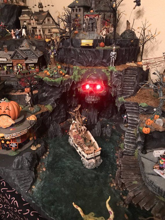 Commission a Custom Halloween Village Display